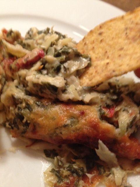 """Chicken, Spinach And Sun-Dried Tomato """"Flatbread"""" (Gluten-Free) Rec..."""