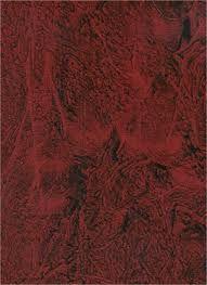 Red Colored Faux Leather Paint Technique House Ideas