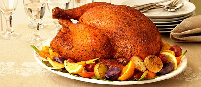 Savory Herb Rub Roasted Turkey | Thanksgiving | Pinterest