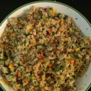 Quinoa with veggies | Quinoa | Pinterest