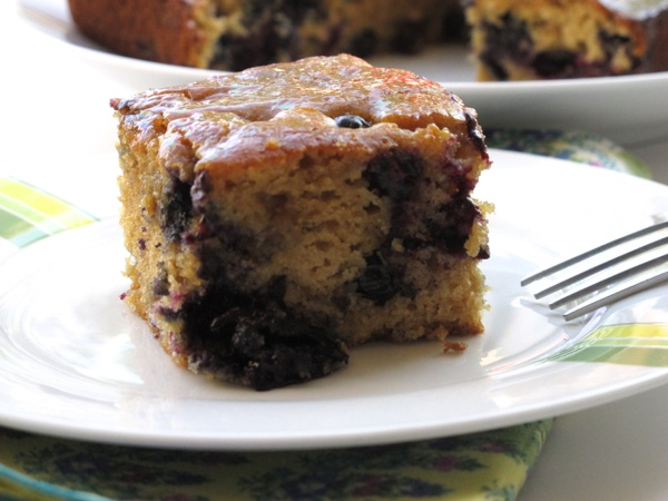 Maple Blueberry Tea Cake | Breakfast & Brunch | Pinterest