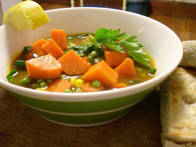 ... boost? Moroccan Sweet Potato Soup by teenytinyturkey, via Flickr