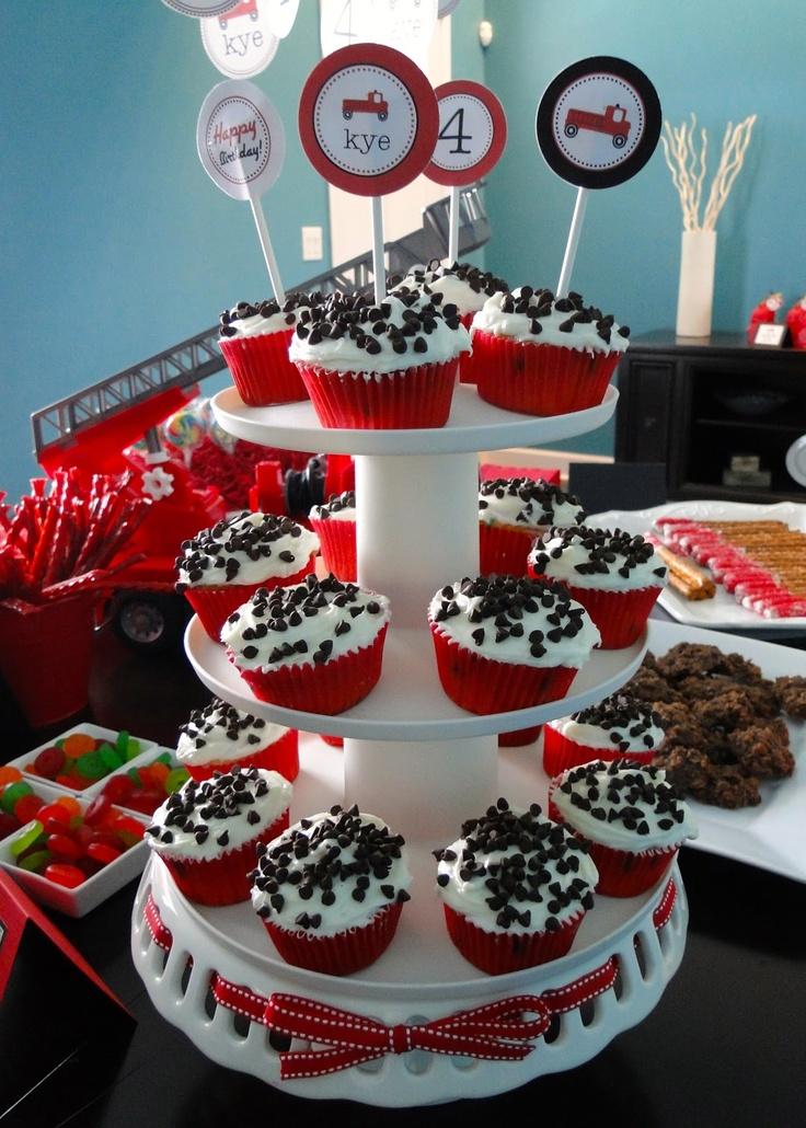 Cup cakes Δαλματίας...