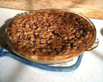 Ricotta Cranberry Cream Pie | Low Carb Ideas | Pinterest