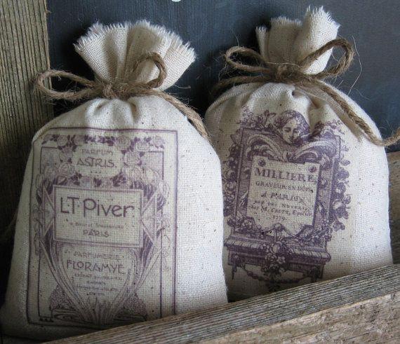 Lavender Sachets Stocking Stuffers Vintage French by AbundantHaven, $ ...