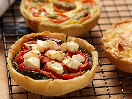 ... Free Roasted Vegetable and Goats Cheese Tarts by Genius Gluten Free