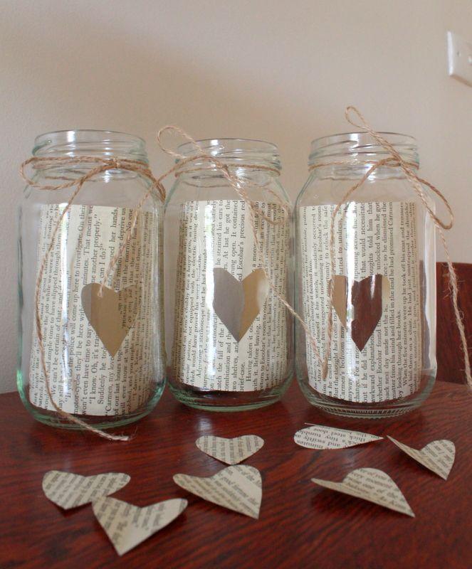 Mason jar candle holders crafts pinterest for Candle holder crafts
