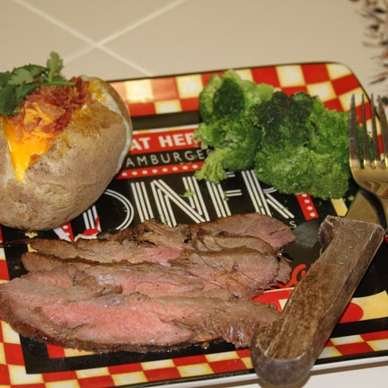 Grilled Marinated Flank Steak   Recipes   Pinterest