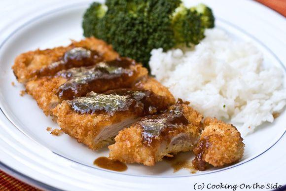 Japanese Pork Cutlets (Tonkatsu) | fooood porn | Pinterest