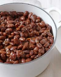 vegetarian, Maple-Cider Baked Beans Recipe from Food & Wine