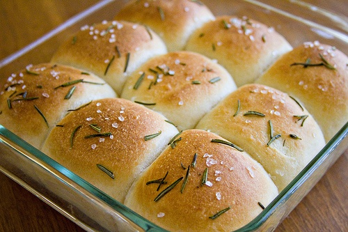 Buttered Rosemary Rolls | Baking to Try Out | Pinterest