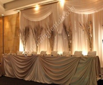 Wedding Backdrops And Decorations Add Some Pheasant Feathers Wheat And
