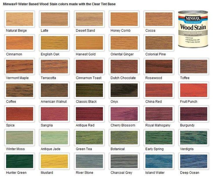 Similiar Wood Dye Colors Keywords
