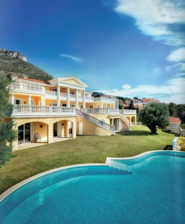Luxury house in french riviera home design pinterest for Riviera house
