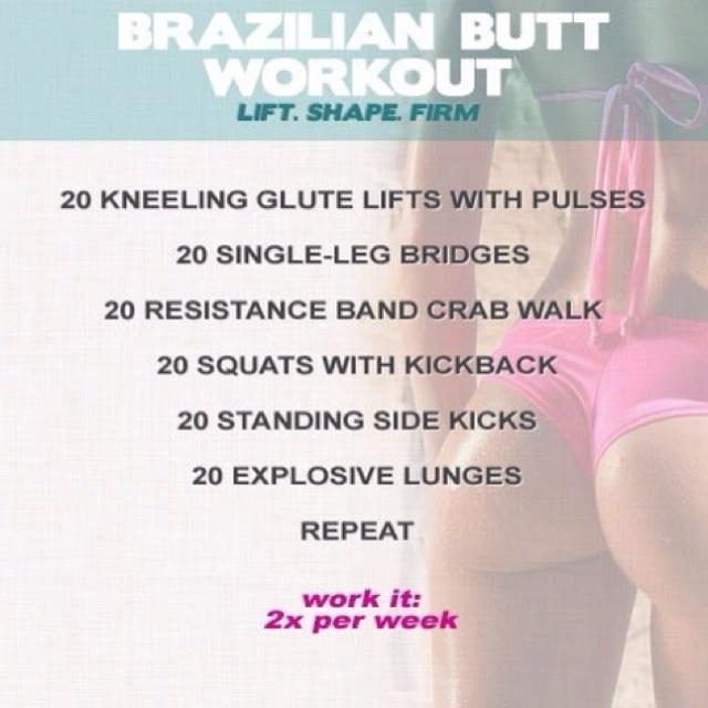 booty lift workout