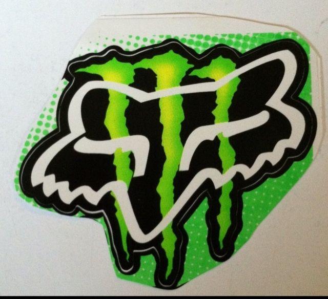 Fox monster energy logo  My Style  Fox racing Fox