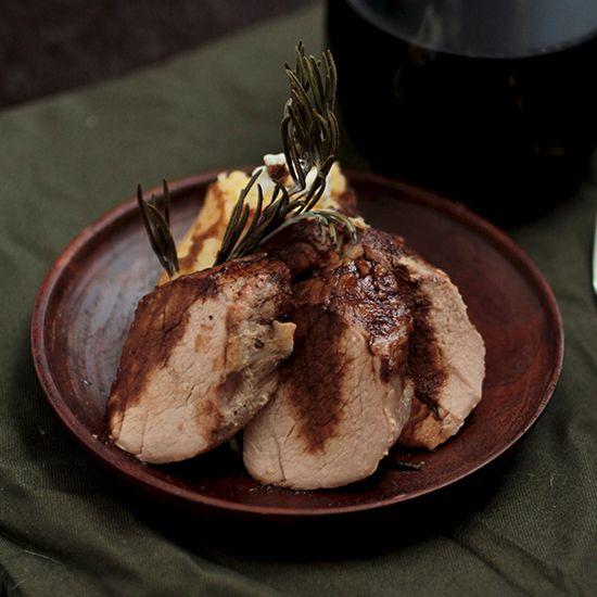 Orange and Rosemary Roasted Pork Tenderloin | Recipe