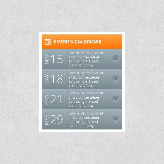 Events Calendar Templates | Calendar Template 2016