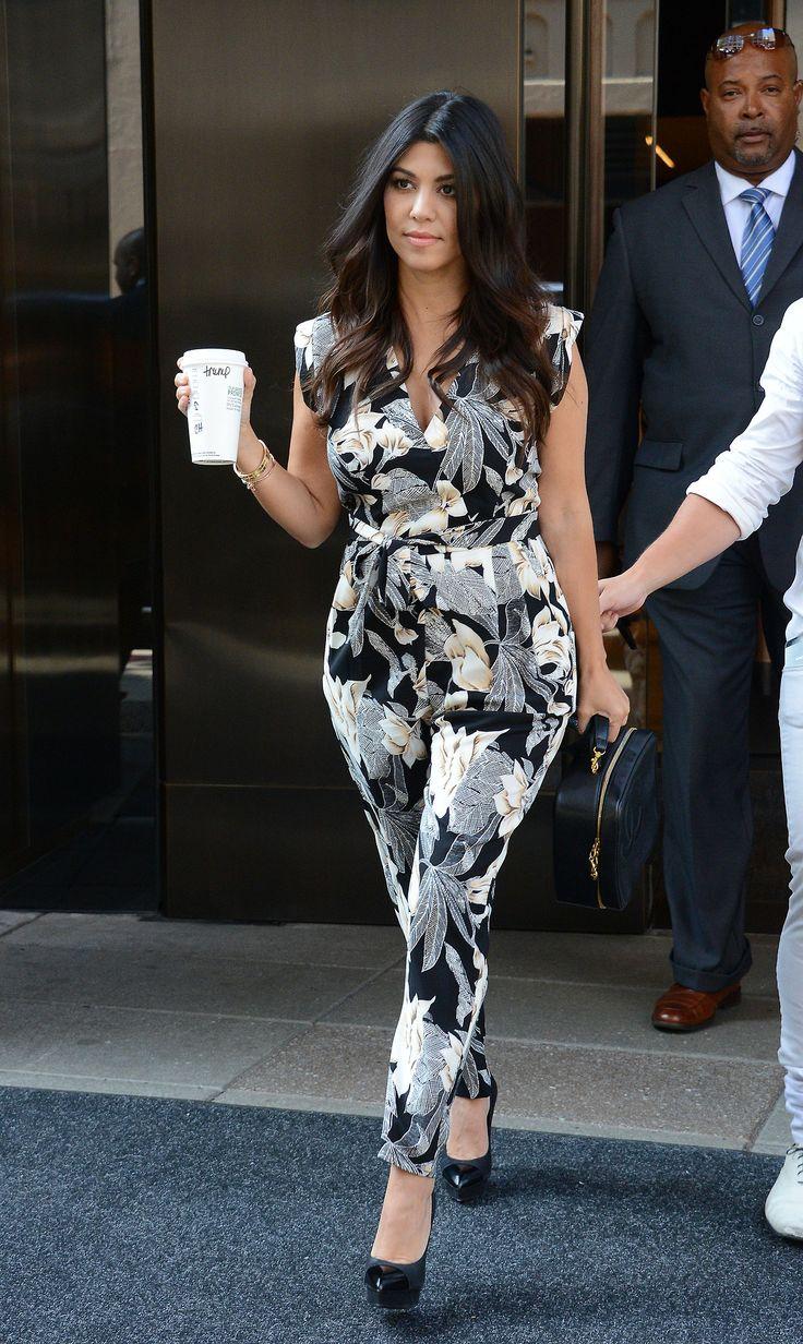 Kourtney Jumpsuit Kim Kardashian Jenner 39 S Pinterest