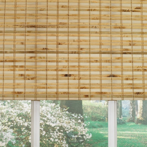 Bamboo Natural Roman Shade A Home Rehabbers To Do List