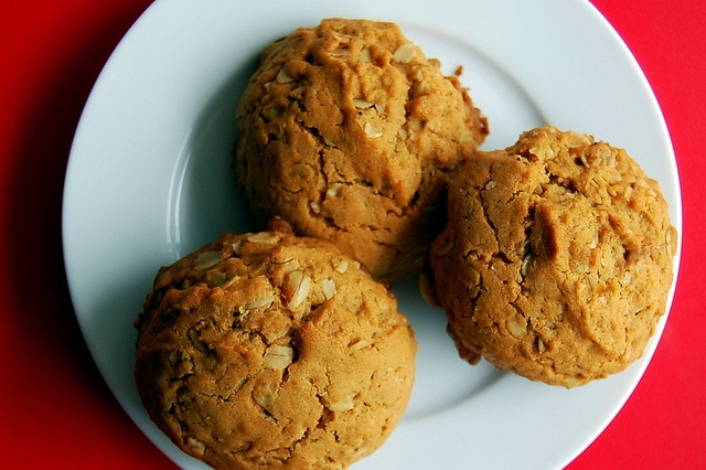 Biscoff Toasted Oatmeal Cookies