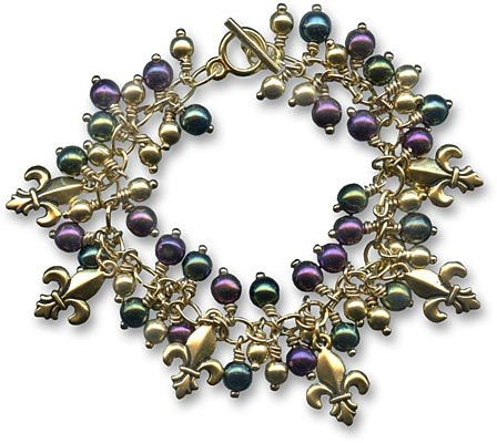 Fat Tuesday Bracelet by Tiffany White (Geisha Creations)