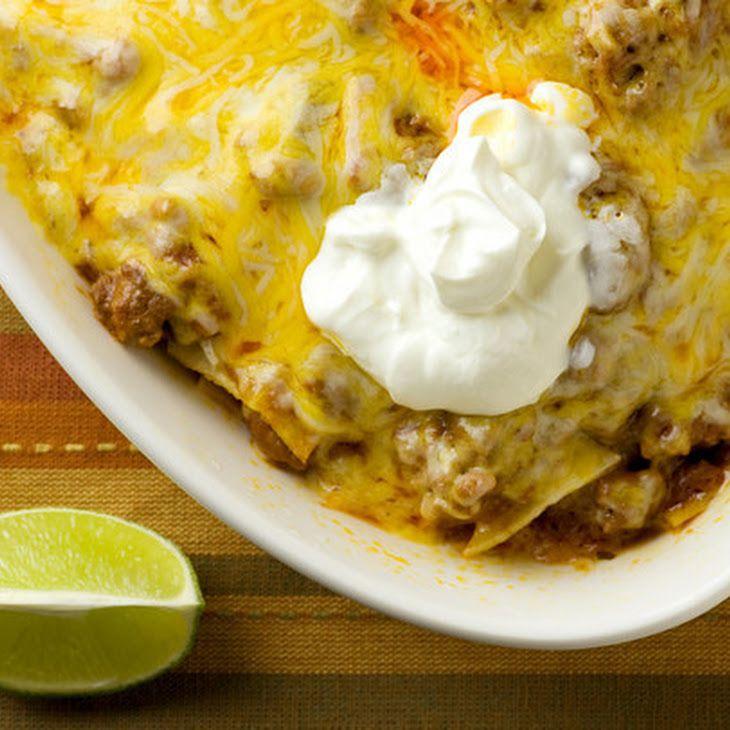 Beef Enchilada Casserole VI Recipe, probably won't be using the ...