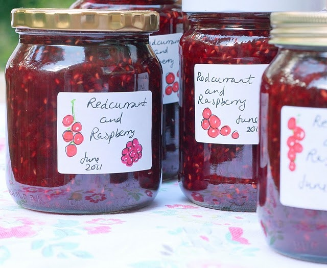 My raspberry and redcurrant jam | Eat | Pinterest