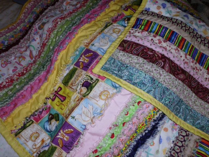 baby rag quilt My Quilts Pinterest