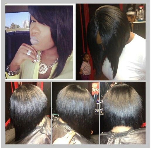 Gorgeous bob sew in | weave/ bobs♥♡ | Pinterest