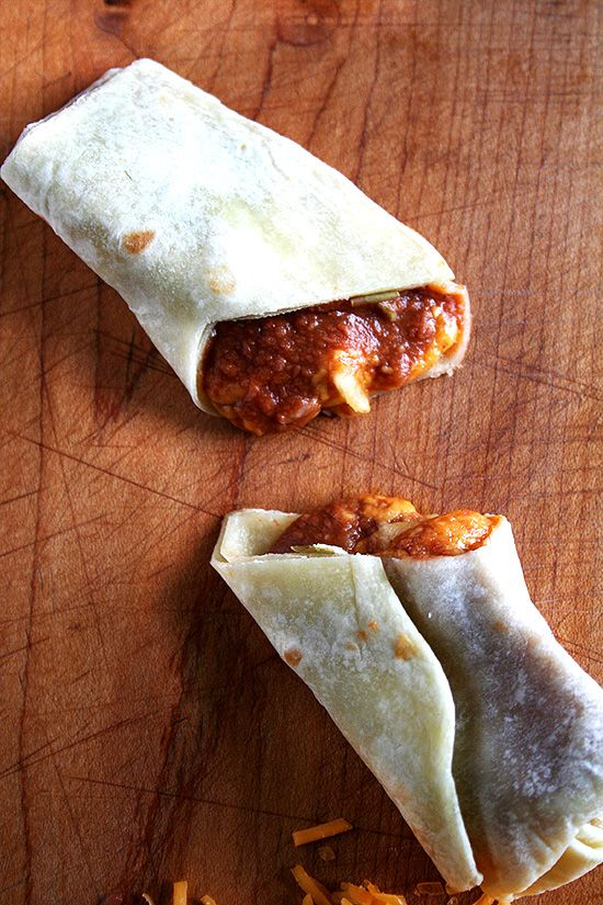 Bean & Cheese Burritos, Beef Tacos & Homemade Flour Tortillas (from ...