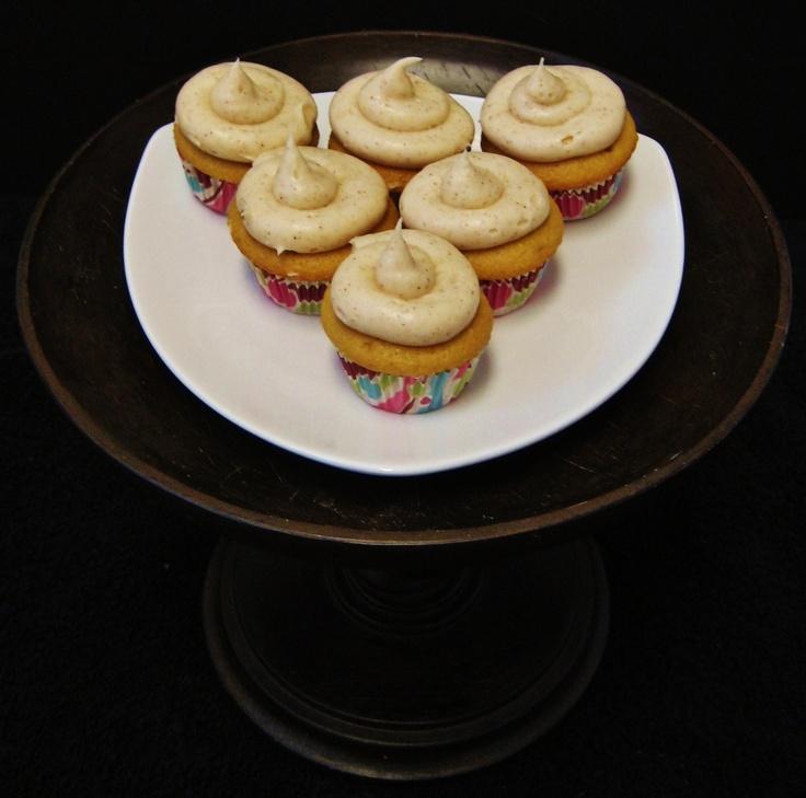 Chai Tea Latte mini cupcakes. | Food Stuff | Pinterest