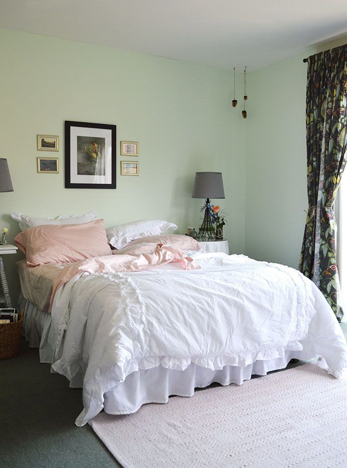 soft pink and mint bedroom paint color ideas pinterest