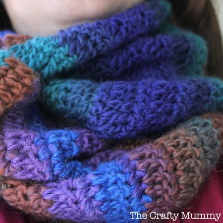 Crochet Tutorial Infinity Scarf : Crochet Infinity Scarf Tutorial Crochet Patterns & Tutorials Pint ...
