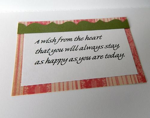 Wedding Shower Gift Card Phrases : bridal shower sentiments - Google Search Scrapbook Journaling, Titl ...