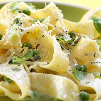 Pasta with ricotta cheese sauce | Dinner tonight | Pinterest