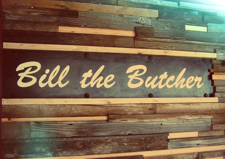 Bill the Butcher campaign 2011