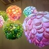 Tomomi Sayuda's Handwoven Paper Daydream Lamps