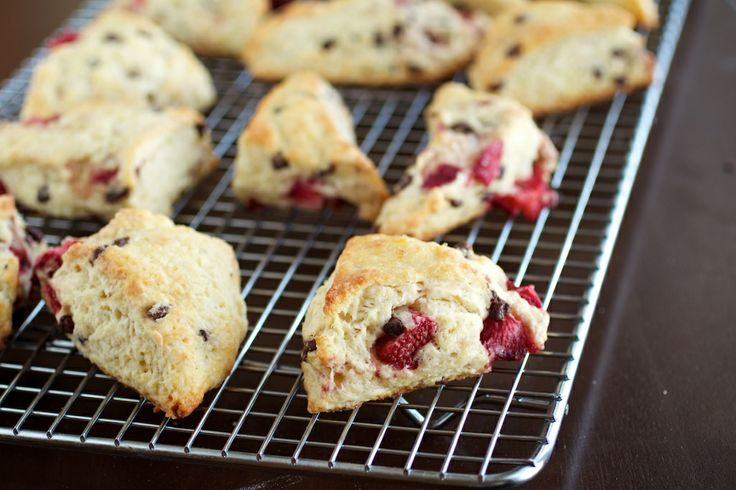Strawberry-Infused Chocolate Chip Snack Cake Recipe — Dishmaps