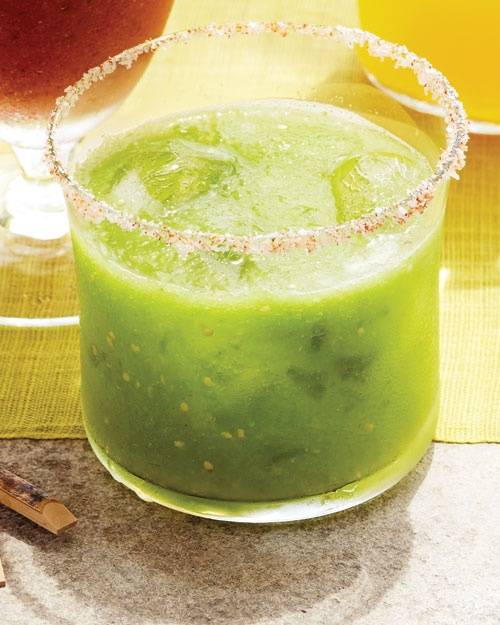 Tomatillo Mary....a twist on the classic mmm