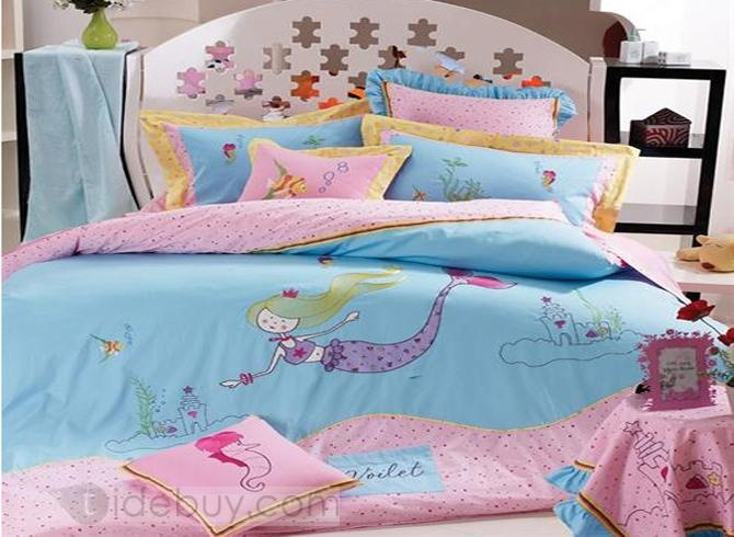 Cute mermaid bedding | suburban mermaid | Pinterest
