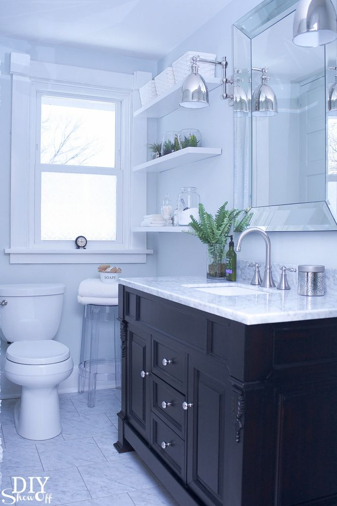 Bathroom before and after for Before and after bathroom makeovers