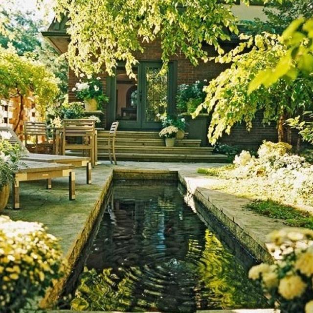 Beautiful Backyard Take It Outside Pinterest
