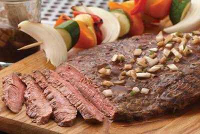 Beer Marinated Grilled Flank Steak Recipe Provided By Certified Angus ...