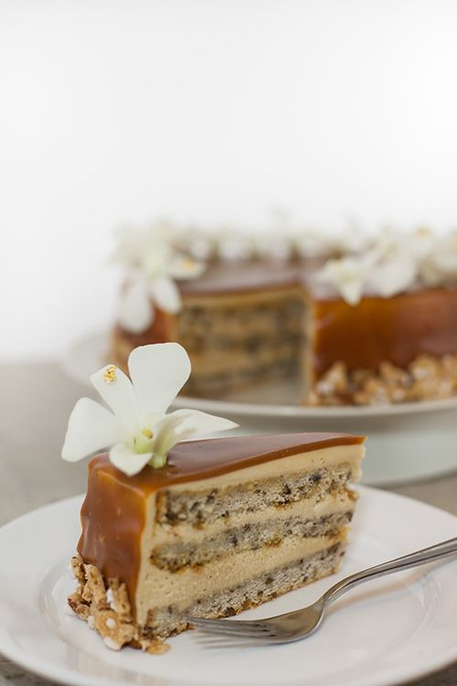 SALTED CARAMEL BUTTERSCOTCH PECAN CAKE | The Best Meal of the Day | P ...