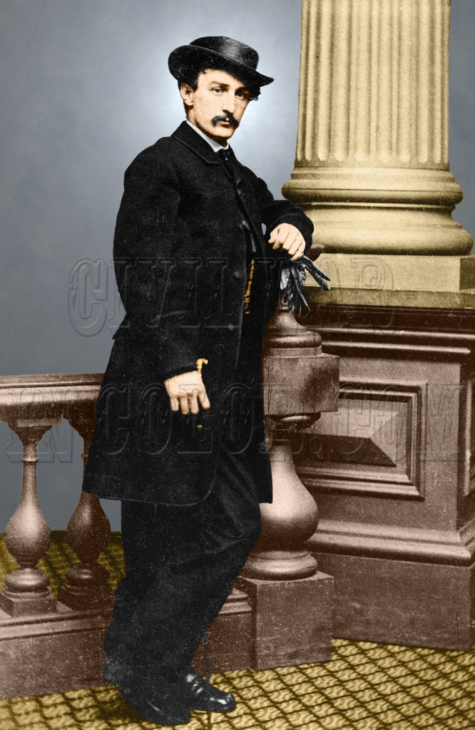 John Wilkes Booth Lincoln Assassination 8x10 Quot Color Tinted
