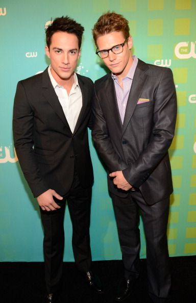 Michael Trevino and Zach Roerig at CW Upfronts
