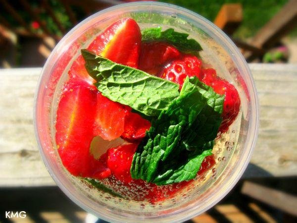 Strawberry Sparklers | Recipe