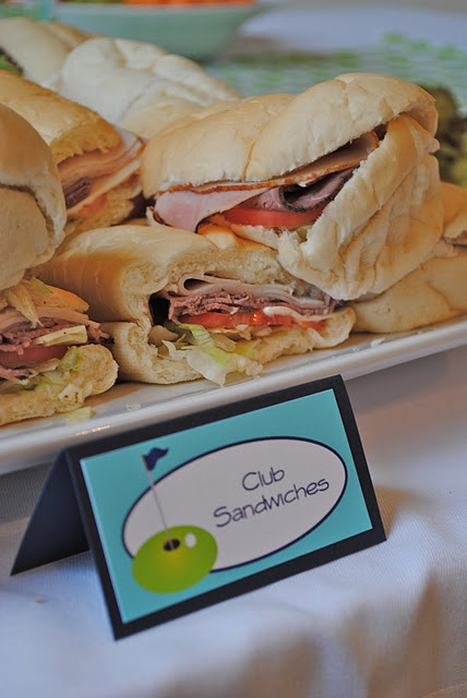 """Club sandwiches 