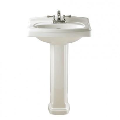 20 Pedestal Sink : AS Townsend Pedestal Sink $201.20 Bathrooms Pinterest